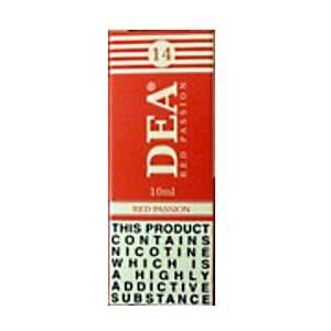 DEA Red Passion 10ml E-cig Liquids