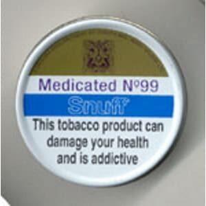 Medicated No 99 Snuff