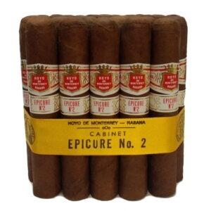 Hoyo De Monterrey Epicure No.2 bunch of 25