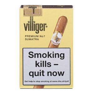 Villiger Premium No.7 Cigars Pack of 5