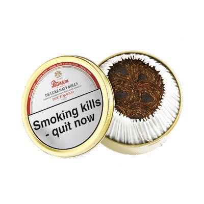 Peterson De Luxe Navy Rolls Pipe Tobacco 50g