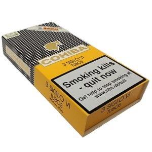 Cohiba Siglo VI Cigar – Pack of 3 Tubos