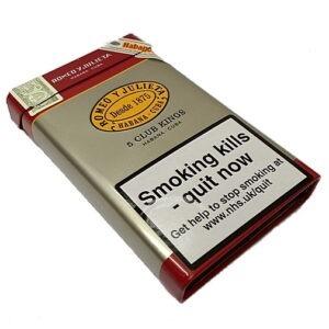Romeo y Julieta Club Kings Cigars – Tin of 5