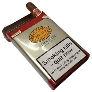 Romeo y Julieta Club Kings Cigars – Open Tin of 5