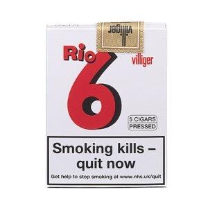 Villiger Rio 6 Cigars Pack of 5