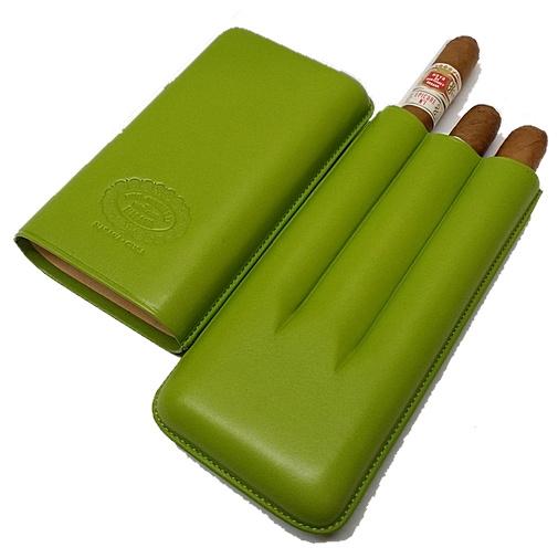 Hoyo de Monterrey Leather Case with 3 Epicure No.1 cigars