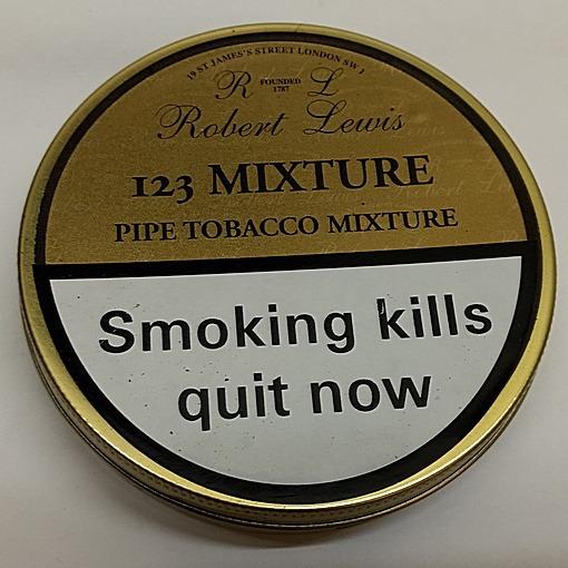 Robert Lewis 123 Mixture 50g tin