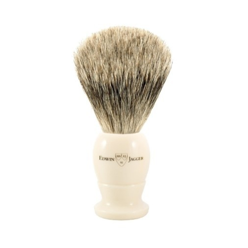 Small Imitation Ivory Best Badger Brush 9EJ877