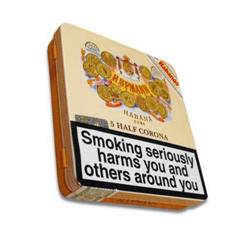 H.Upmann Half Corona cigar tin of 5